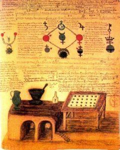 Laboratoire d'alchimie