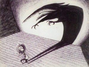 L'Ombre par Tim Burton
